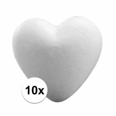 10x piepschuim harten 12 cm