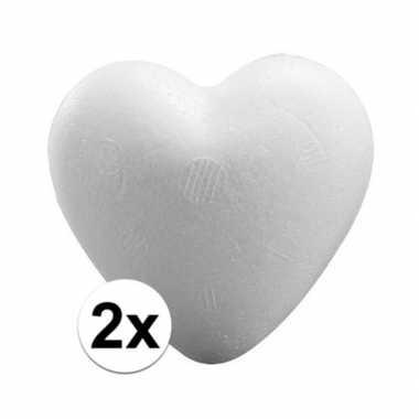 2x piepschuim harten 15 cm