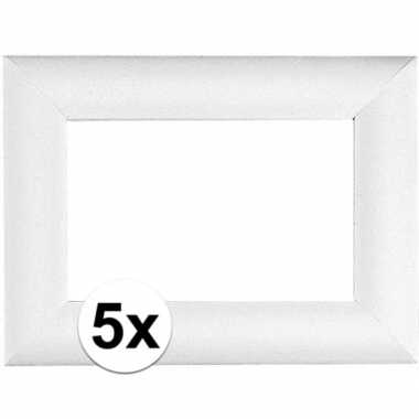 5x piepschuim lijsten 32 x 24 cm
