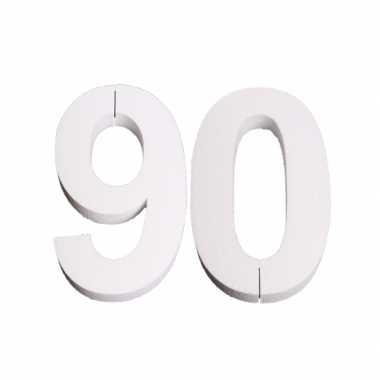 Piepschuim 90 cijfer 25 cm