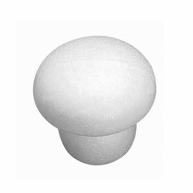 Piepschuim paddenstoel 7,5 cm