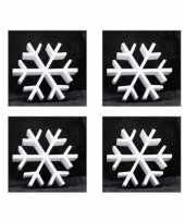 8x piepschuim vormen ijskristal 20 cm hobby knutselmateriaal