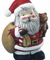 Piepschuim kerstman 17 5 cm